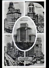 MADRID (ESPAGNE) MONUMENTS & HOTEL en 1957