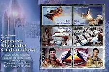 Gambia 2006 Sc#3046 Space Shuttle Columbia M/S of 6 Mnh * Unmounted