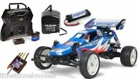 Tamiya 58416 Rising Fighter Buggy RC Kit - DEAL BUNDLE with Twin Stick Radio