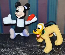 McDonalds Disney House of Mouse PLUTO & MINNIE Plush Toys Cellphone Headphones