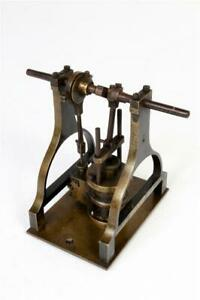 Vintage ~ Vertical Steam Engine                                         #2152