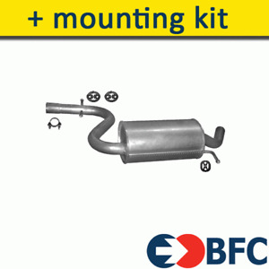 AUDI A3 Sportback 1.4 1.6 116/125HP 2003-2013 Exhaust Central Silencer+