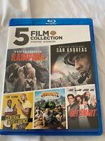 DWAYNE JOHNSON: 5 FILM COLLECTION (5 BLU-RAY) Like New