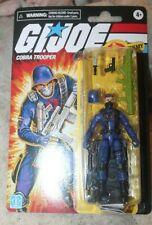 New listing Hasbro G.I. Joe Retro Cobra Officer Trooper Action Figure 3.75 Walmart 2021