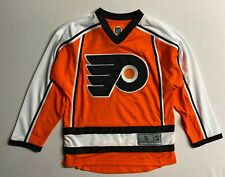 Philadelphia Flyers Nhl Licensed Team Apparel Replica Blank Jersey ,Youth 7-18 Y