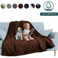 Waterproof Blanket for Couch Sofa Bed Protector Cover WaterResistant Large 80x60