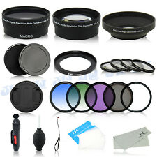 Wide Angle Tele Lens & Graduated Filters for Canon SX500 IS SX510 HS SX410 IS