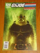 G.I. JOE COBRA #7 RI COVER 2010 IDW BEN TEMPLESMITH