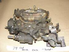 79 Cadillac Deville 4 BARREL ROCHESTER QUADRAJET CARBURETOR CARB 4BBL *TESTED*