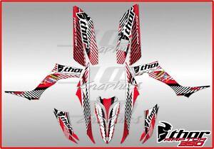 YAMAHA RAPTOR 350 full graphics kit ..THICK AND HIGH GLOSS