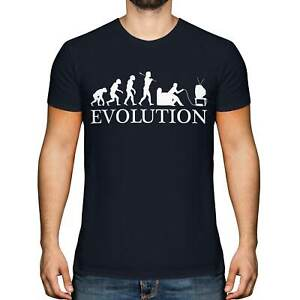 GAMER EVOLUTION OF MAN MENS T-SHIRT TEE TOP GIFT GAMING CONSOLE CONTROLLER