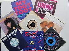 "8*7"" 45RPM Daz Band, Lasalle, Ashford & Simpson, Kool & Gang, Radio, Sledge ETC"