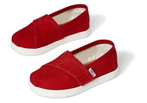 NEW Toms Infant/Toddler Classic Canvas Slip On Shoes 100% Original Brand