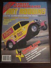 Popular Hot Rodding Magazine January 1979 Alice Cooper Hot Rodders No Label (AA)
