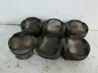 BMW E36 M3 3.2 S50B32 86.365mm engine pistons set of 6 all good