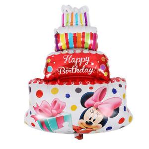 1psc/lot all style Mickey Minnie Balloon helium air Balloon Birthday Party Ballo