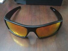 Oakley Gascan Sunglasses - Matte Black - Ruby Iridium