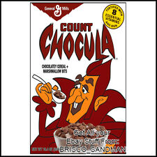 Fridge Fun Refrigerator Magnet COUNT CHOCULA MONSTER BREAKFAST CEREAL 80s Retro
