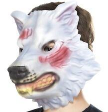 Childs EVA Wolf Mask Fancy Dress Animal Foam Mask & Elasticated Strap by Smiffys
