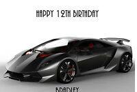 Personalised A5 ANY MAKE OF CAR Birthday Card Any Age Relation Son Husband Wife