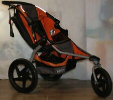 Bob Revolution Se Single Orange Jogging Stroller Extra Clean Euc