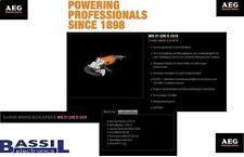 AEG Winkelschleifer WS 21 - 230 E GVX