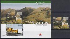 Madeira 2017 EUROPA CEPT.CASTLES.1 MS+1 stamp.MNH
