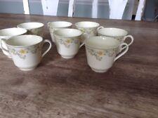 Set Of 8 Royal Doulton England Bone China Tea Cup pattern Nicole