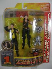 "Play Along Toys Spy Kids 055 Figures ""Carmen Cortez & Gary Giggles"" Figure MOC"