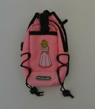 Genuine Princess Peach Pink NINTENDO DS Switch N Carry Case
