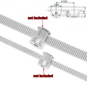 9.525mm Pitch Timing Belt Open Cogged Gear PU Synchronous Pulley Belt L-Type
