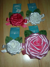 4 NEW VINTAGE ROSE GIFT BOWS
