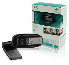 Logitech C170 Web cam - Black 960-001066 Universal USB Webcam camera for PC 5MP