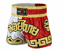 NEW Muay Thai Fight Shorts MMA Grappling Kick Boxing Trunks Martial Arts UFC W R