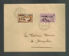 1942 St Pierre Miquelon Cover Local # 243 249