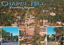 Franklin Street Downtown Chapel Hill, University of North Carolina Home Postcard