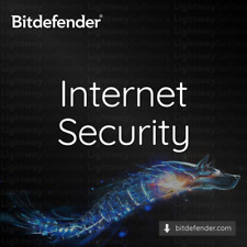 Bitdefender Internet Security 2020 - 1 to 3 years for 1 to 5 PC (Code Key)
