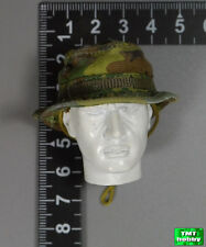 1:6 Scale ace 13020 Vietnam USMC Force Recon - ERDL Lime Pattern Boonie Hat