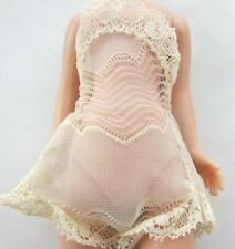 """Betsy McCall Doll Chemise Lace White 1957 Rare 8"""" American Character Original"""