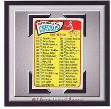1965 Topps 3RD SERIES CHECK LIST #189 NM-MT *awesome baseball card for set*M88C