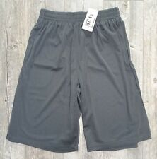 New Pro Club Mesh Shorts w/ Pocket - Charcoal Gray - L, XL, 2X, 3X, 4X, 5X & 7XL