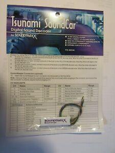 Soundtraxx Tsunami SoundCar  829100  Bob TheTrain Guy