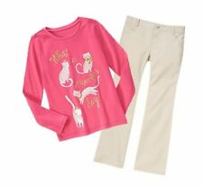 Size 6, Gymboree FLIGHT OF FANCY Outfit, Long Sleeve Tee & Pants, NWT