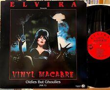 Elvira Vinyl Macabre Oldies But Ghoulies LP Rhino 810 Monster Mash Halloween NM