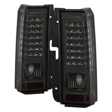 Hummer H3 06-09 Smoked LED Rear Tail Brake Lights Left & Right Side