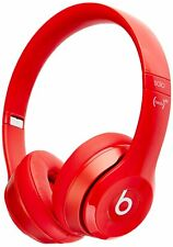Beats Solo 2 WIRED On-Ear Headphone NOT WIRELESS - Red