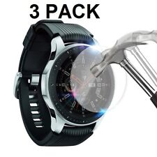 3 X Tempered Glass Screen Protector For Samsung Galaxy Watch 46mm