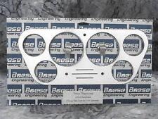 53 54 55 Ford Truck Billet Aluminum 6 Gauge Panel Dash Insert Instrument Cluster