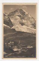 Switzerland, Kl. Scheidegg und Monch Postcard, B216