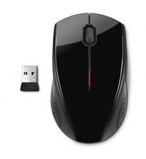 HP x3000 Wireless Mouse, Laptops, Computers, Desktop PC, Scroll Wheel, Black